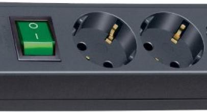 Alargadores eléctricos con interruptor