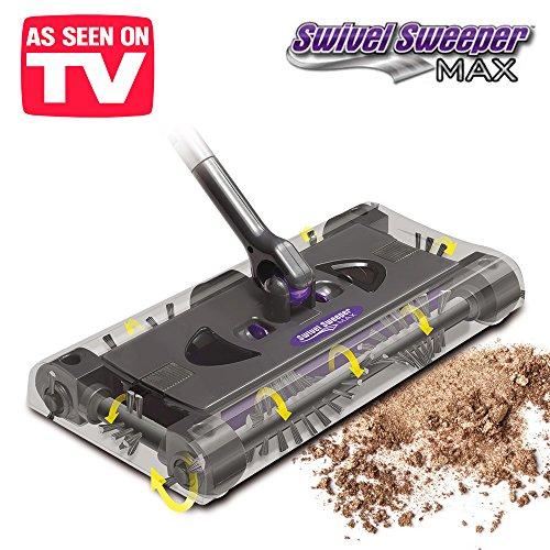 Bater/ía recargable Sin bolsa Escoba el/éctrica rotante aspirapolvo Swivel Sweeper